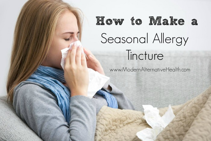 Seasonal Allergy Tincture