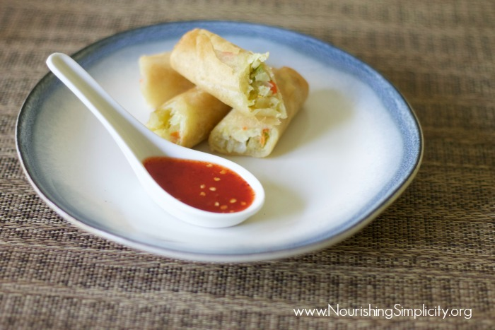 Sweet and Spicy Thai Chili Dipping Sauce-www.nourishingsimplicirty.org