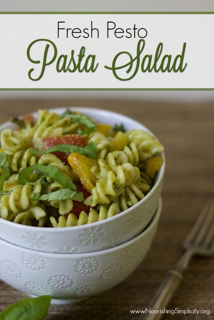 Fresh Pesto Pasta Salad NS