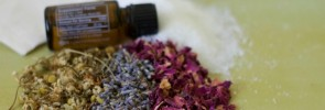 Herbal Bath Soak for Cramps-www.nourishingsimplicity.org