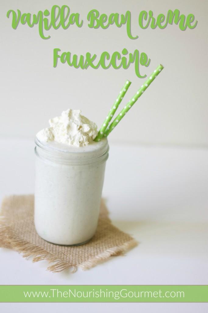 Vanilla Bean Creme Fauxccino