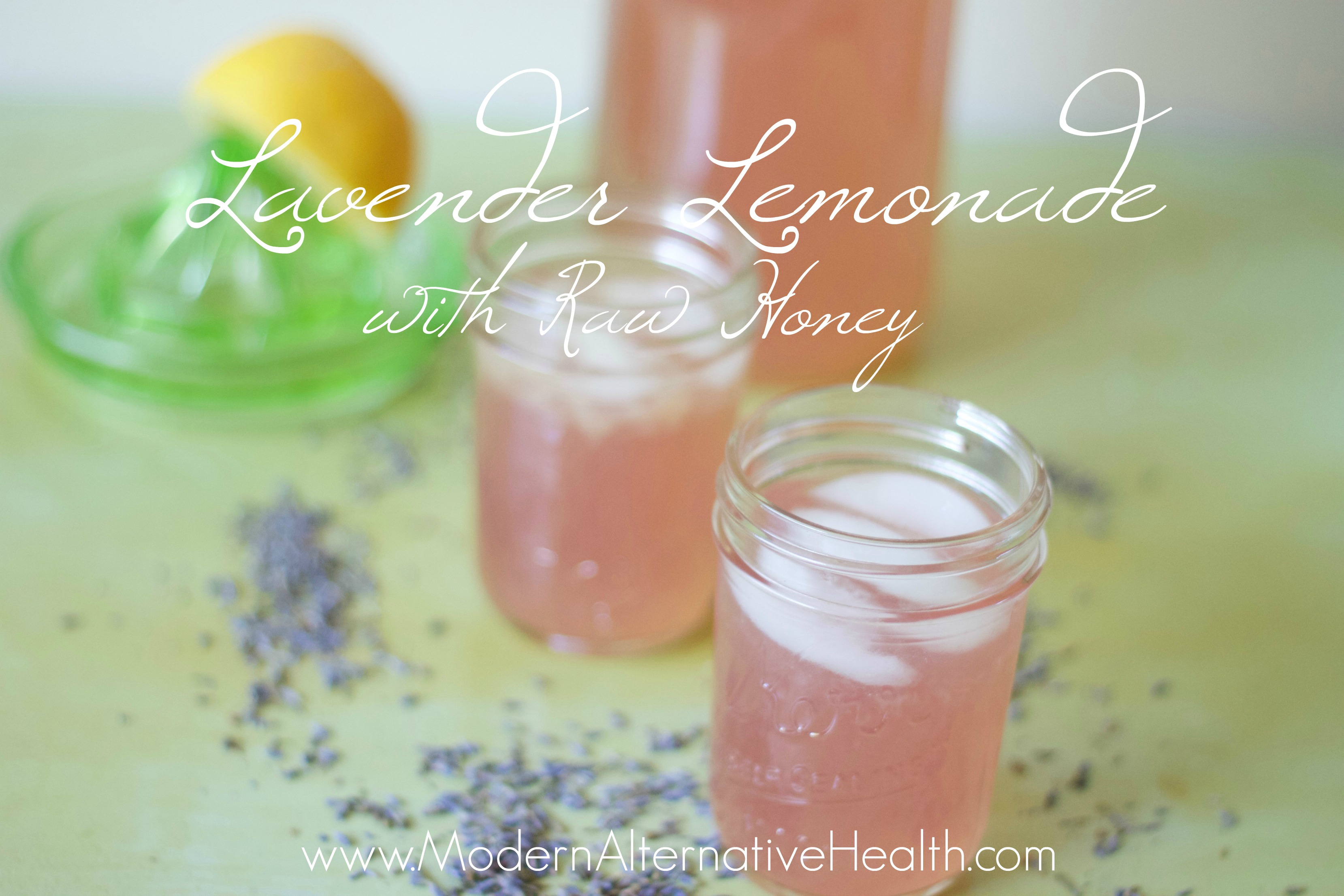 Lavender Lemonade with Raw Honey-www.nourishingsimplicity.org