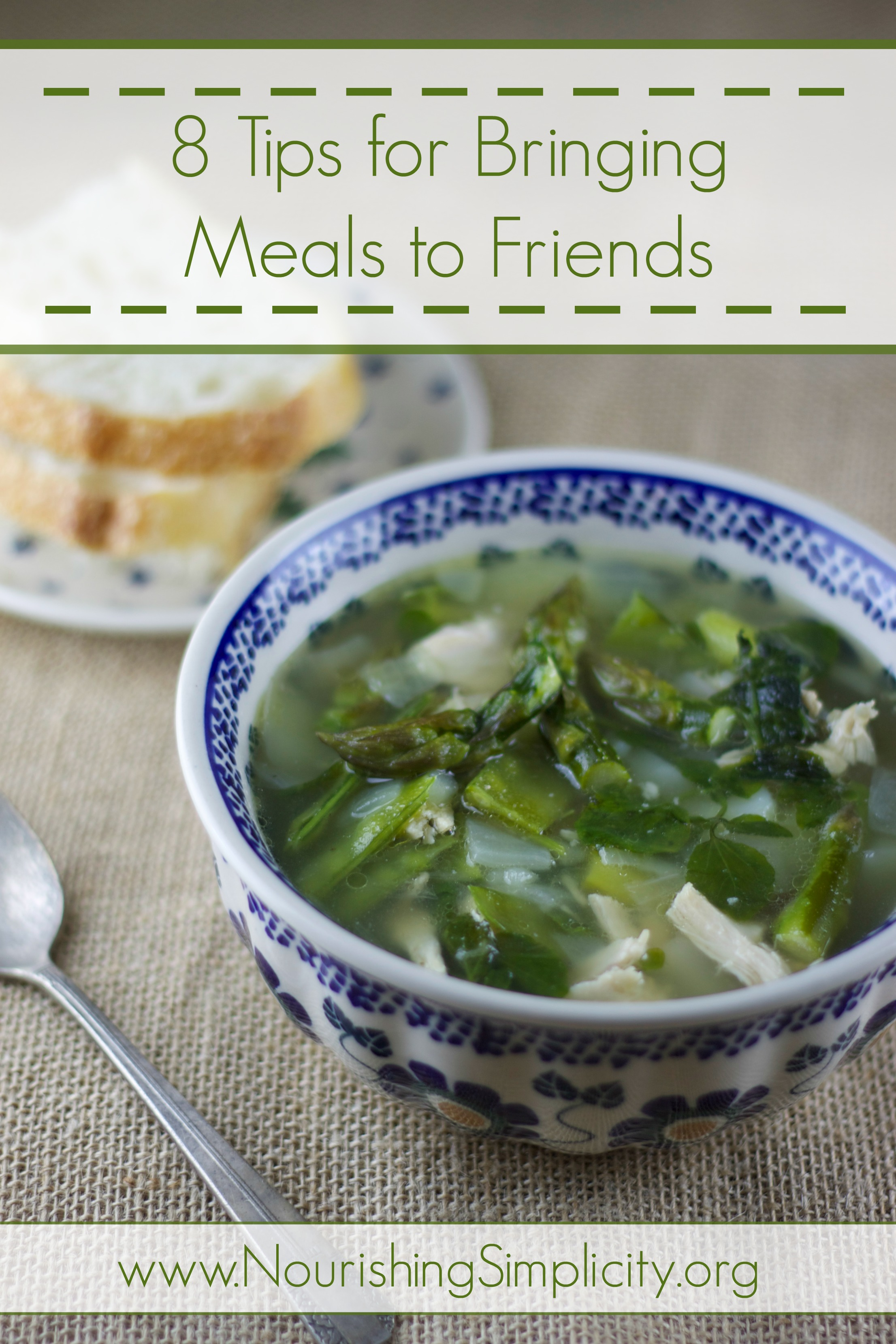 8 Tips for Bringing Meals to Friends