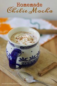 Homemade Chilie Mocha- www.nourishingsimplicity.org