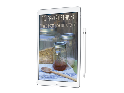 10 PantryStaples for Your Made from Scratch Kitchen-www.nourishingsimplicity.org