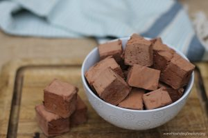 Chocolate Honey Sweetened Marshmallow- www.NourishingSimplicity.org