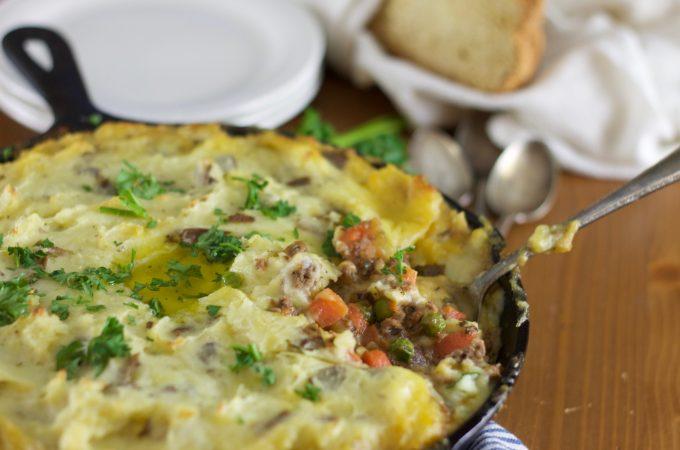 Simple Cottage Pie- www.nourishingsimplicity.org