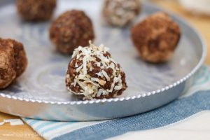 Carob and Almond Energy Bites- www.nourishingsimpicity.org