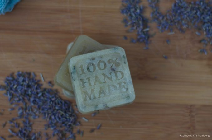 How to Make Simple Sugar Scrub Soap Bars