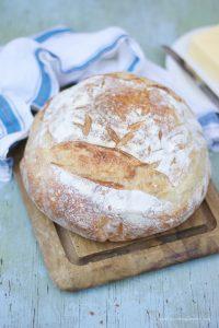 Simple Sourdough Boule- www.nourishingsimplicity.org
